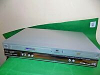 PANASONIC Dual Deck DVD Player VCR VHS VIDEO CASSETTE Recorder Combo FAULTY