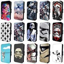 Teléfono Abatible De Star Wars Stormtrooper Estuche Cubierta Para SAMSUNG GALAXY S5 S6 S7 S8 S9