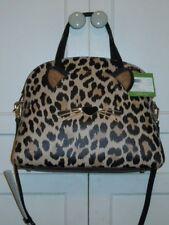 Specialty Novelty Kate Spade Run Wild Leopard Lottie Satchel Bag Pxru8120