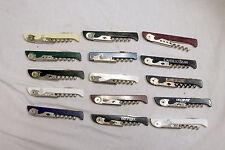 Lot Of 15 Franmara Italy TSA Confiscated Corkscrews Lot 222