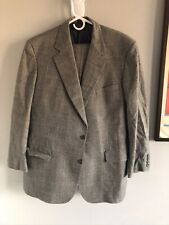 Brooks brothers prince of Wales suit size 46L