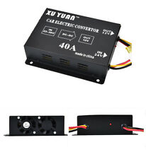 Metal Car Electric Converter 40A DC 24V To 12V Power Supply Inverter Transformer