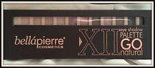 BELLAPIERRE X11 EYE SHADOW PALETTE GO NATURAL 12pc (rrp £29.99)