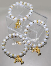 12 RECUERDOS MI PRIMERA COMUNION PULSERA BRACELET FIRST COMMUNION FAVORS CALIZ