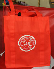 """1014-TB Red 12"""" x 16"""" Tote Bag with Silk screened"""
