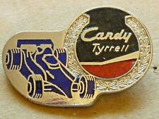 New listing VINTAGE FORMULA ONE CANDY TYRRELL RACING TEAM BADGE