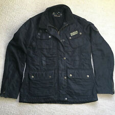 Barbour Ladies Quilted Jacket, Black, Size 12, Used