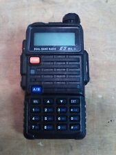 MTC Dual Band Hand Held Two-Way Radio E5 MK-ll Tested and Working!