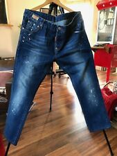 Dsquared2 Jeans with Buttons Size 38 x 28 Made in Italy