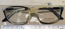 Burberry montatura vista nuova modello celluloide B 2114 3318 52-17 Sale -40%