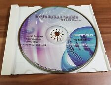 CD Hanns.G HannsG Installation Guide TFT LCD Monitor