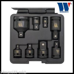 """Werkzeug - Impact Adapter & Universal Joint Set - 1/4 to 3/4"""" - 8 Pcs - 4135"""