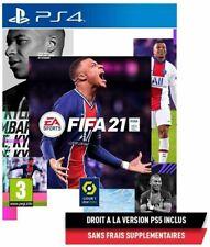 FIFA 21 - VERSIONS PS5 ET PS4 ( VERSION NEUF ET SOUS BLISTER 10 UNITES )