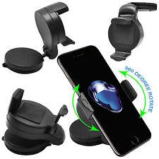 Supporto AUTO Parabrezza compatibile iPhone 7 e 7 PLUS + Disco ADESIVO Cruscotto