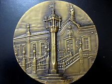MONUMENTS / PILLORY OF VILA REAL / BIG BRONZE MEDAL BY D.A / N.108
