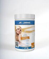 pH-Minus Granulat 1,5kg Wasserpflege Pool Chemie Chlor Schwimmbad 1,5 kg