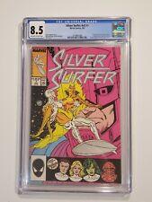 SILVER SURFER V3 #1 CGC 8.5 (Jul 1987, Marvel) Origin Retold - FF, CHAMPIONS