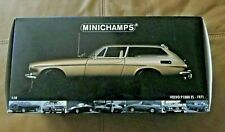 1:18 MINICHAMPS Volvo P1800 ES 1971 GOLD New in Original Box, Unopened