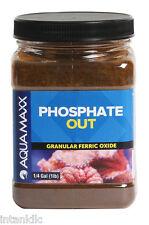 AQUAMAXX PHOSPHATE OUT GRANULAR FERRIC OXIDE GFO - 1/4 GALLON - 1 LB - UJ00133