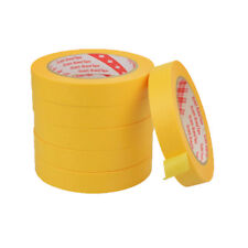 1PCS 3M Yellow Textured paper Tape 0.8CM width 50 meters long  Masking tape