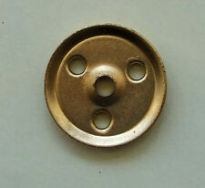 """Mecanno 1950's - PART No.22a 1"""" Pulley without boss and screws (pack of 2)"""