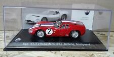 """DIE CAST """" TIPO 151/3 24H DU MANS 1964  """" MASERATI 100 YEARS COLLECTION 1/43"""