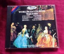 WORLDS FAVOURITE WALTZES - VIENNA SYMPHONY ORCHESTRA CD