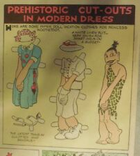 Alley Oop Sunday by VT Hamlin from 6/7/1937 Full Page Very Large Paper Doll !