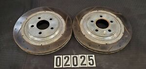 94-04 FORD MUSTANG COBRA SVT FRONT DRIVER AND PASSENGER POWER STOP ROTORS 02025