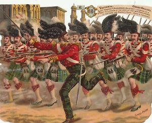 Die Cut  Artist Harry Payne-VC Heroes. Lt MacPherson at Siege of Lucknow (Sc54