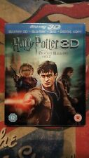 Harry Potter And The Deathly Hallows Part 2 3D Bluray