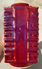 Estate Old House Chinese Antique YaoBian Glazed Red Purple Vase