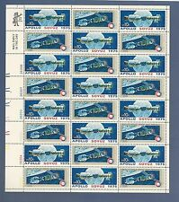 SCOTT #1570a..APOLLO SOYUZ SPACE ISSUE..SHEET OF 24 (10c) STAMPS..MNH..UL MR ZIP