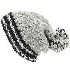 Accessoires Bonnet gris pour homme en 100% laine