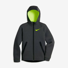 Nike Therma-Sphere Max Big Kids Boys Training Hoodie XL Gray Volt Casual New