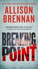 Lucy Kincaid Novels: Breaking Point by Allison Brennan (2018, Paperback)