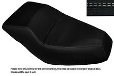 WHITE DS STITCH CUSTOM FITS HONDA HELIX CN 250 DUAL LEATHER SEAT COVER