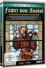 Franz von Assisi - 4 Dokus über den Heiligen Franz von Assisi Pidax DVD Neu Ovp
