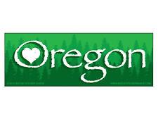 Oregon love   (Bumper Sticker)