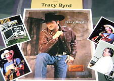 TRACY BYRD Autographed Poster Flat & Photos  HOT COUNTRY