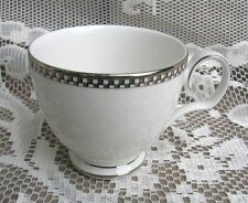 "Old Vintage Noritake Cellini Platinum 3"" Footed Cup Pattern 7980 ~ Discontinued"