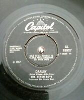 "The Beach Boys ‎– Darlin Vinyl 7"" Single UK Capitol CL 15527 1968"