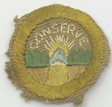 Boy Scout Merit Badge Type AA Conservation #1 (1-5)
