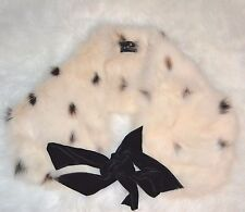 """J Mendel fox fur scarf genuine 42"""" New without tags"""