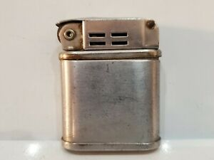 VINTAGE WORKING BEATTIE JET PIPE SILVER LIGHTER - MADE IN U.S.A.  3117/27