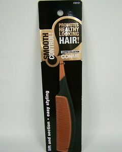 Conair Smooth Control Copper Collection Hair Comb #93121 Easy Styling Lift New