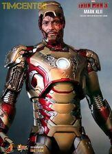 Ready! Hot Toys Sideshow Iron man 3 Mark XLII 42 Robert Downey Tony 1/6 Diecast