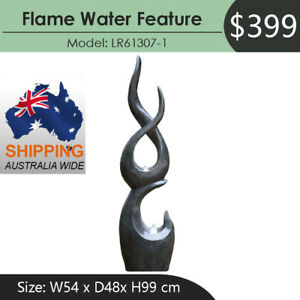 FLAME WATER FOUNTAIN FEATURE LR61307-1