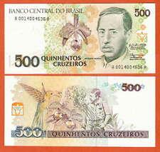 P230   Brasilien / Brazil  500  Cruzeiros  1990   UNC