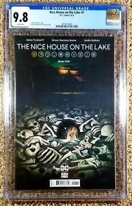 Nice House On The Lake #1 CGC 9.8 (DC, 2021) JamesTynion IV